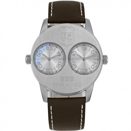 Montre SERGE BLANCO Rugby Dual Time - SB1130-2