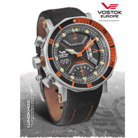 Montre Lunokhod 2 Vostok orange - TM3603B/6205207