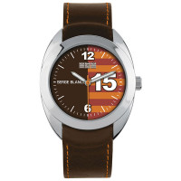 Montre New Basic marron Serge Blanco Homme - SB1080-16
