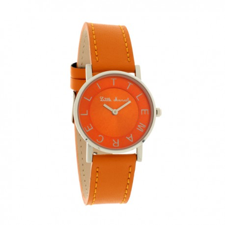 Montre LITTLE MARCEL  Femme orange - LM48OGC