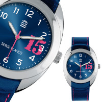 Montre Serge Blanco NEW BASIC Mixte Bleu - SB1080/18