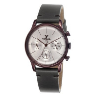 Montre YEMA HOMME Silver Cuir Gris - YMHF1274