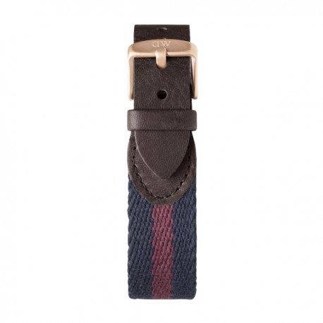 Grace London  Daniel Wellington  mixte Navy & bordeaux - W0751DW