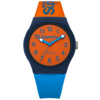 Montre SUPERDRY Unisexe Orange-Bleu et Orange - SYG164MO