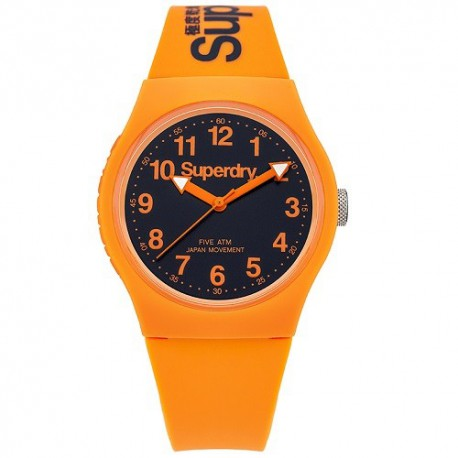 Montre SUPERDRY Unisexe Orange et Noir - SYG164O