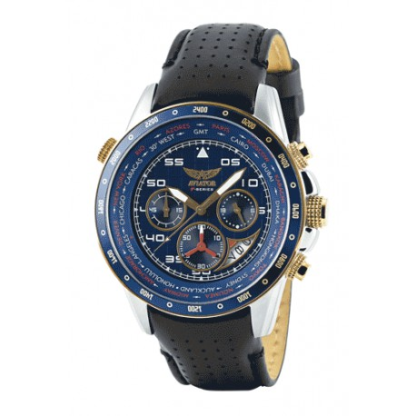 Montre Aviator World Cities  pour Homme - AVW7770G262