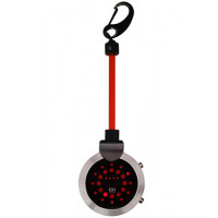 Montre The One Pocket Rock Mixte Noire LED Rouge - PR502RR