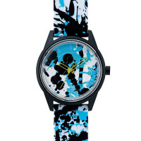 Montre Q&Q Smile Solar Floral Collection Mixte multicolore - QRP00J022Y
