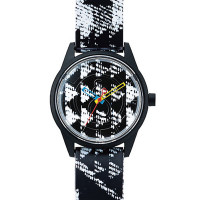Montre Q&Q Smile Solar Floral Collection Mixte multicolore - QRP00J024Y