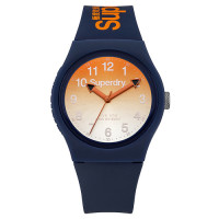 Montre Superdry Urban Laser Unisexe Orange dégradé - SYG198UO