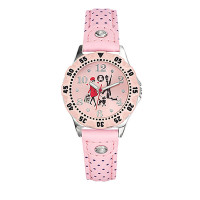 Montre LuluCastagnette Fille Rose - 38756