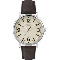 Montre Times Homme Modèle The Heritage Collection Beige et Marron - T2P526