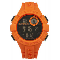Montre Radar Superdry Homme Noir et orange - SYG193O