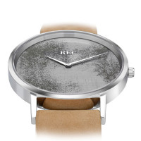 Montre Homme REC Watches modèle Minimalist Marron - L2