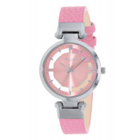 Montre Flower NAF NAF Femme Rose Transparent - N10932-212