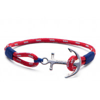 Bracelet Rouge Tom Hope Arctic Blue