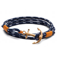 Bracelet Bleu Tom Hope 24K
