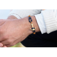 Bracelet Bleu Tom Hope 24K One