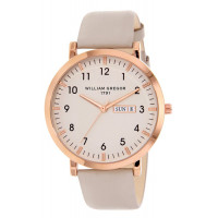 Montre  WILLIAM GREGOR 1791  Femme Blanc - BWG10031G-801