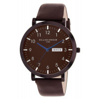 Montre  WILLIAM GREGOR 1791  Mixte Marron - BWG10031G-505