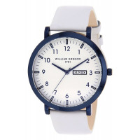 Montre  WILLIAM GREGOR 1791  Mixte Blanc - BWG10031G-501