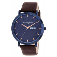 Montre  WILLIAM GREGOR 1791  Mixte Bleu - BWG10031G-305