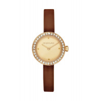 Montre MORGAN Femme Cuir Lisse Marron - MG 008S-1EU