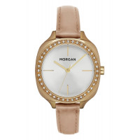 Montre MORGAN Femme Cuir Lisse Beige - MG 003S-1BE