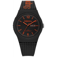 Montre Urban Day-Date Superdry Homme Noir - SYG179OB