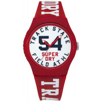 Montre Urban Track & Field Superdry Homme Blanc - SYG182WR