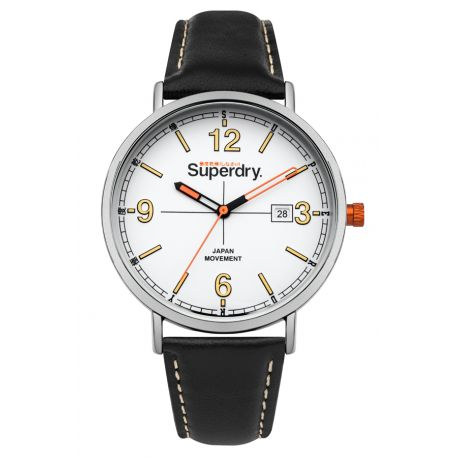 Montre Oxford Field Superdry Homme Blanc - SYG190B
