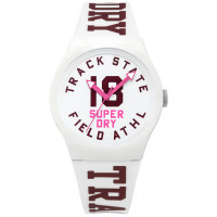 Montre Urban Track & Field Superdry Femme Blanc - SYL182VW