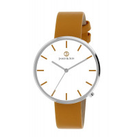 Montre James And Son Homme Blanc - JAS10041-206