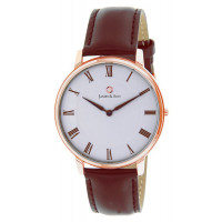 Montre James And Son Homme Blanc - JAS10061-805