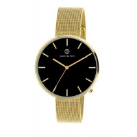 Montre James And Son Homme Noir - JAS10043-103