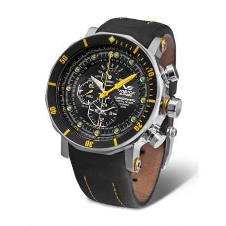 Montre Lunokhod2 Jaune New Edition  - YM86-620A505