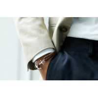 Bracelet Unisexe Tom Hope Cognac Brown