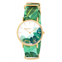 Montre  CLUELESS Jungle Femme Multicolore - BCL10118-006