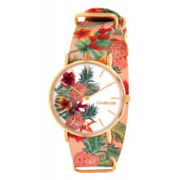 Montre  CLUELESS Fruits Exotiques Femme Multicolore - BCL10118-007