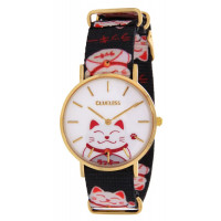 Montre  CLUELESS Chat Femme Multicolore - BCL10118-010
