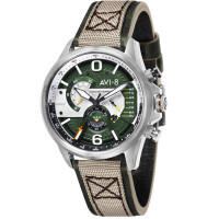 Montre Hawker Harrier II AVI-8  Homme Vert - AV-4056-02