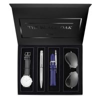 Montre Coffret BLACK OAK Homme Blanc - BX97051SET-201