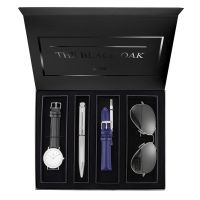 Montre Coffret BLACK OAK Femme Blanc - BX97052SET-201
