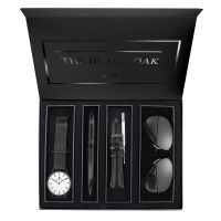 Montre Coffret BLACK OAK Homme Blanc - BX97053BSET-901