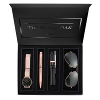 Montre Coffret BLACK OAK Femme Noir - BX97054SET-803