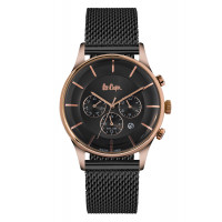 Montre  Lee Cooper Homme anthracite mat - LC06492.460