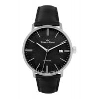 Montre LA BOISSIERE YONGER & BRESSON Homme noir - Index chromé - YBH 094-AS01