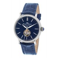 Montre CERNY YONGER & BRESSON Homme Bleu - Index chromé - YBH 8524-52 B