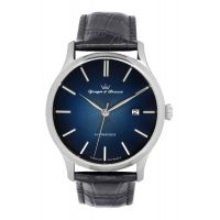 Montre BEAUMESNIL YONGER & BRESSON Homme Bleu - Index chromé - YBH 8564-52