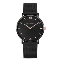 Montre LIGNE SAILOR PAUL HEWITT Mixte Noir - PH-SA-B-BSR-4S